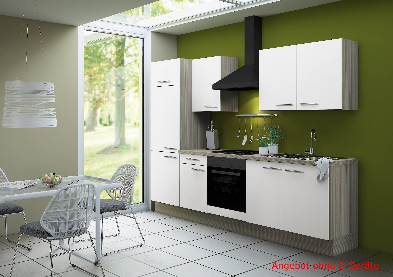 k chenzeile cadiz vario 2 k chen leerblock breite 270 cm wei k che k chenzeilen. Black Bedroom Furniture Sets. Home Design Ideas