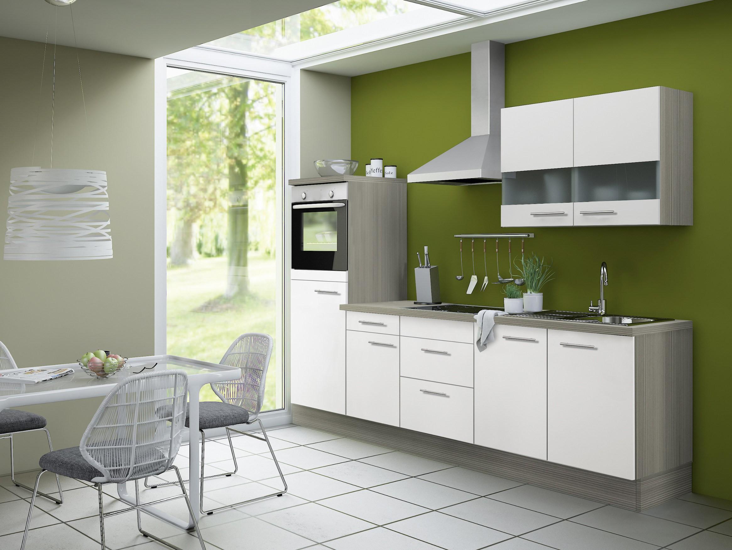 k chenzeile cadiz vario 8 k che mit e ger ten breite. Black Bedroom Furniture Sets. Home Design Ideas