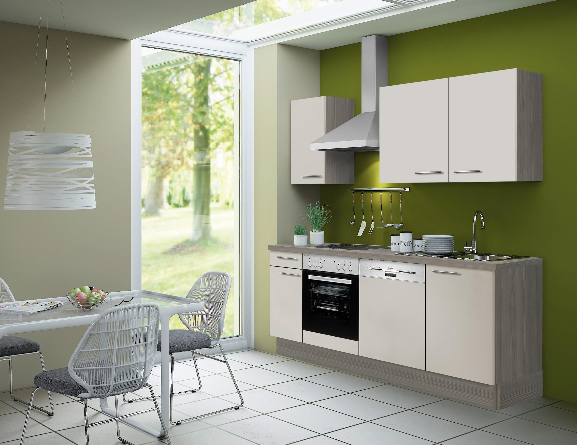 k chenzeile cadiz vario 2 k che mit e ger ten breite 210 cm beige k che k chenzeilen. Black Bedroom Furniture Sets. Home Design Ideas