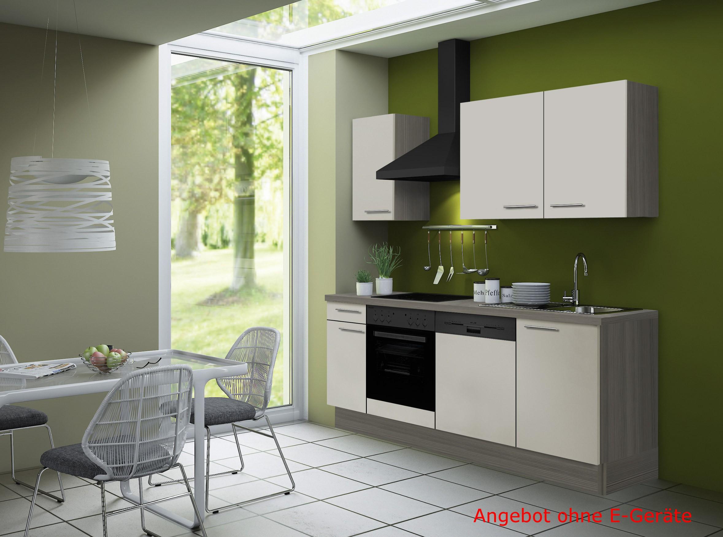 k chenzeile cadiz vario 2 k chen leerblock breite 210 cm beige k che k chenzeilen. Black Bedroom Furniture Sets. Home Design Ideas