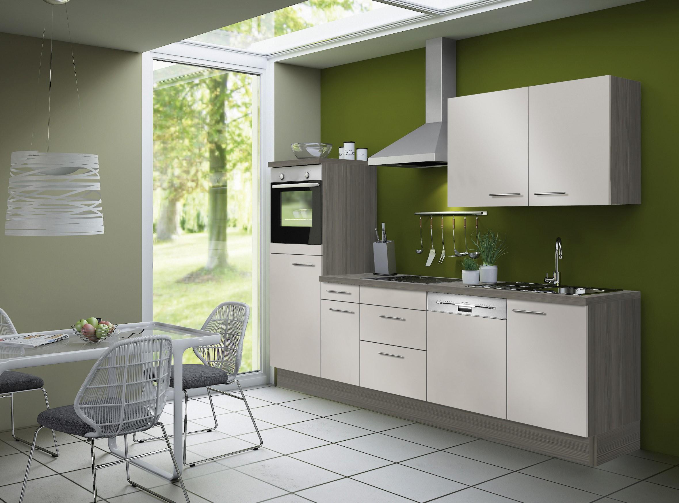 k chenzeile cadiz vario 3 k che mit e ger ten breite. Black Bedroom Furniture Sets. Home Design Ideas