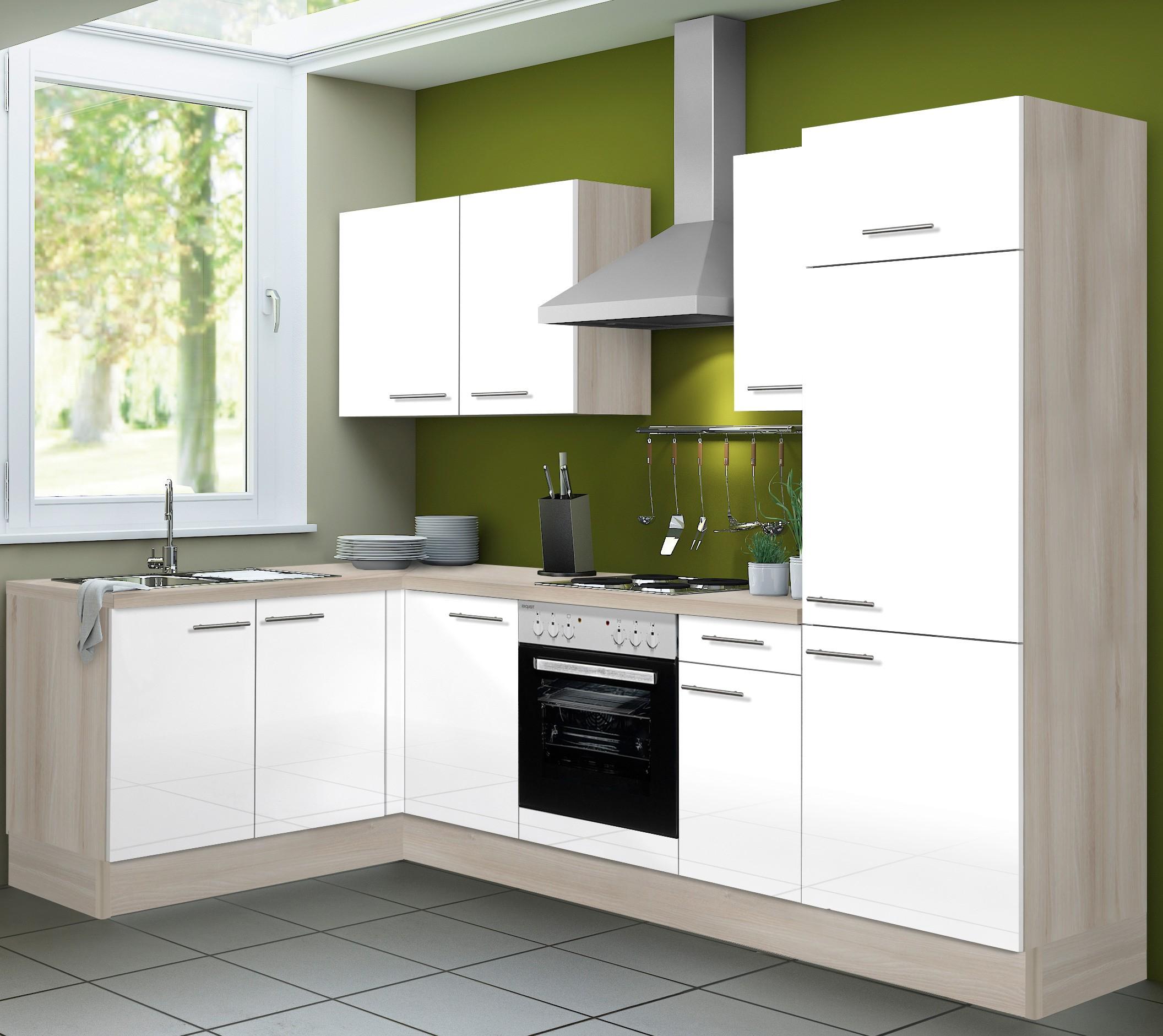 eckk che leon vario 1 k che mit e ger ten breite 270. Black Bedroom Furniture Sets. Home Design Ideas