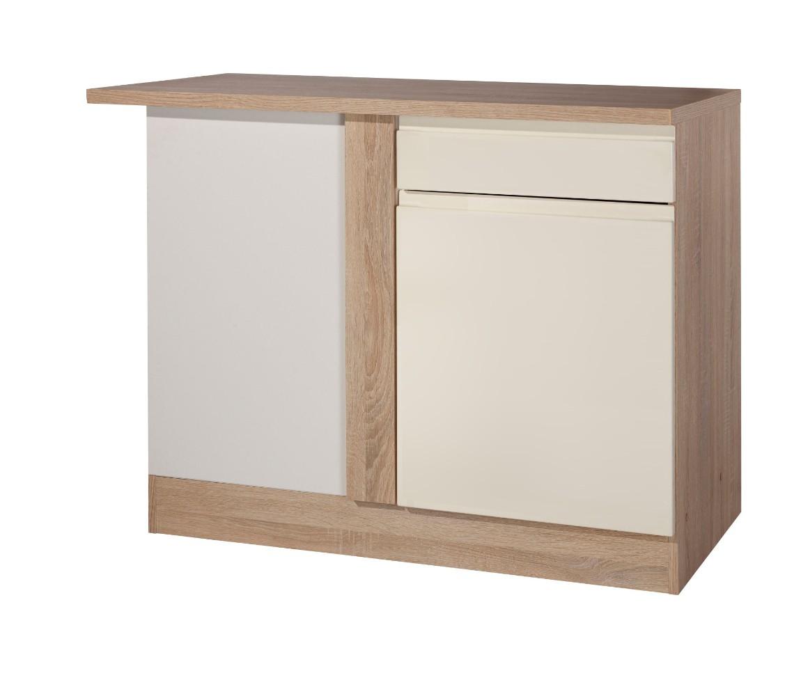 Küchen Eckunterschrank CARDIFF 1 türig 110 cm breit