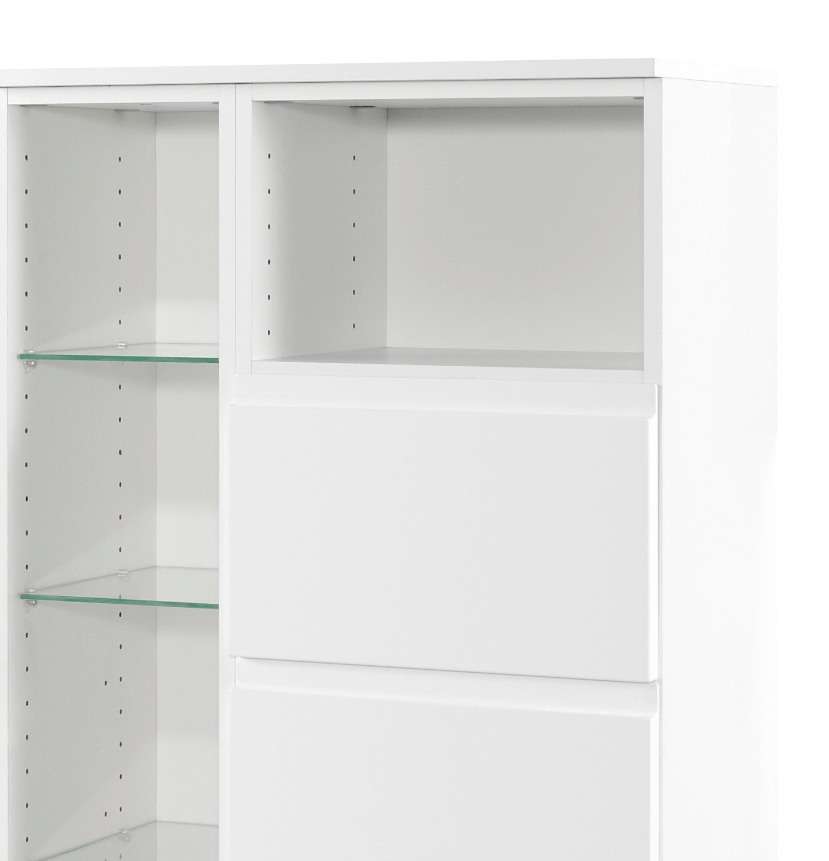 Neu badezimmer midischrank cardiff midi highboard for Badezimmer 65 cm breite