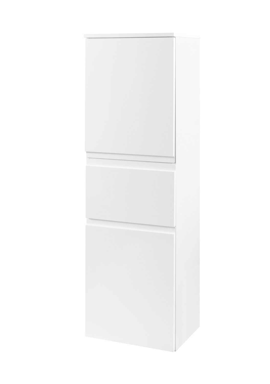 bad midischrank cardiff 2 t rig 1 schublade 40 cm breit hochglanz wei bad cardiff. Black Bedroom Furniture Sets. Home Design Ideas