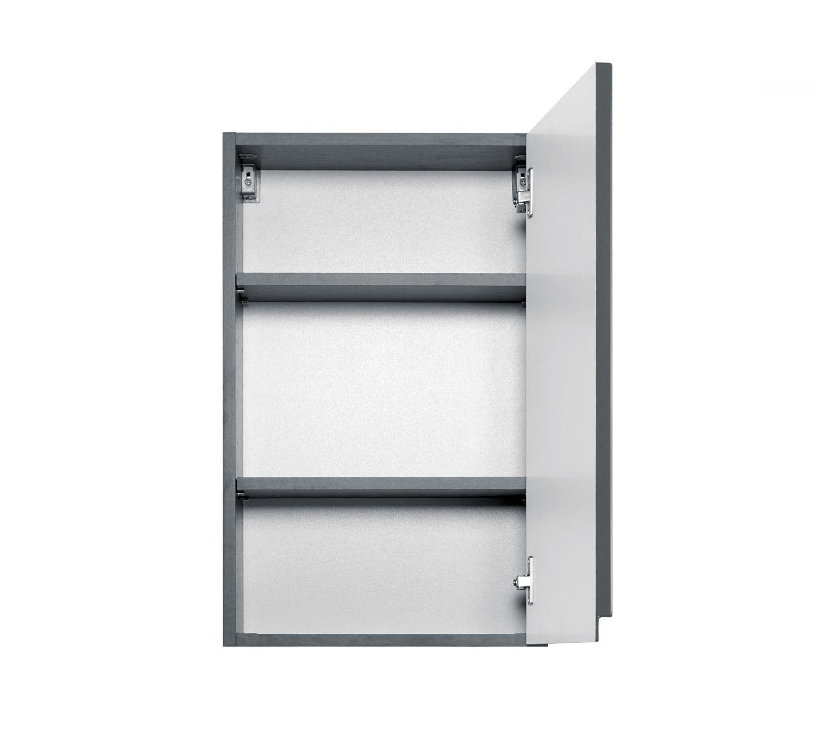 bad h ngeschrank cardiff 1 t rig 40 cm breit hochglanz grau bad cardiff. Black Bedroom Furniture Sets. Home Design Ideas