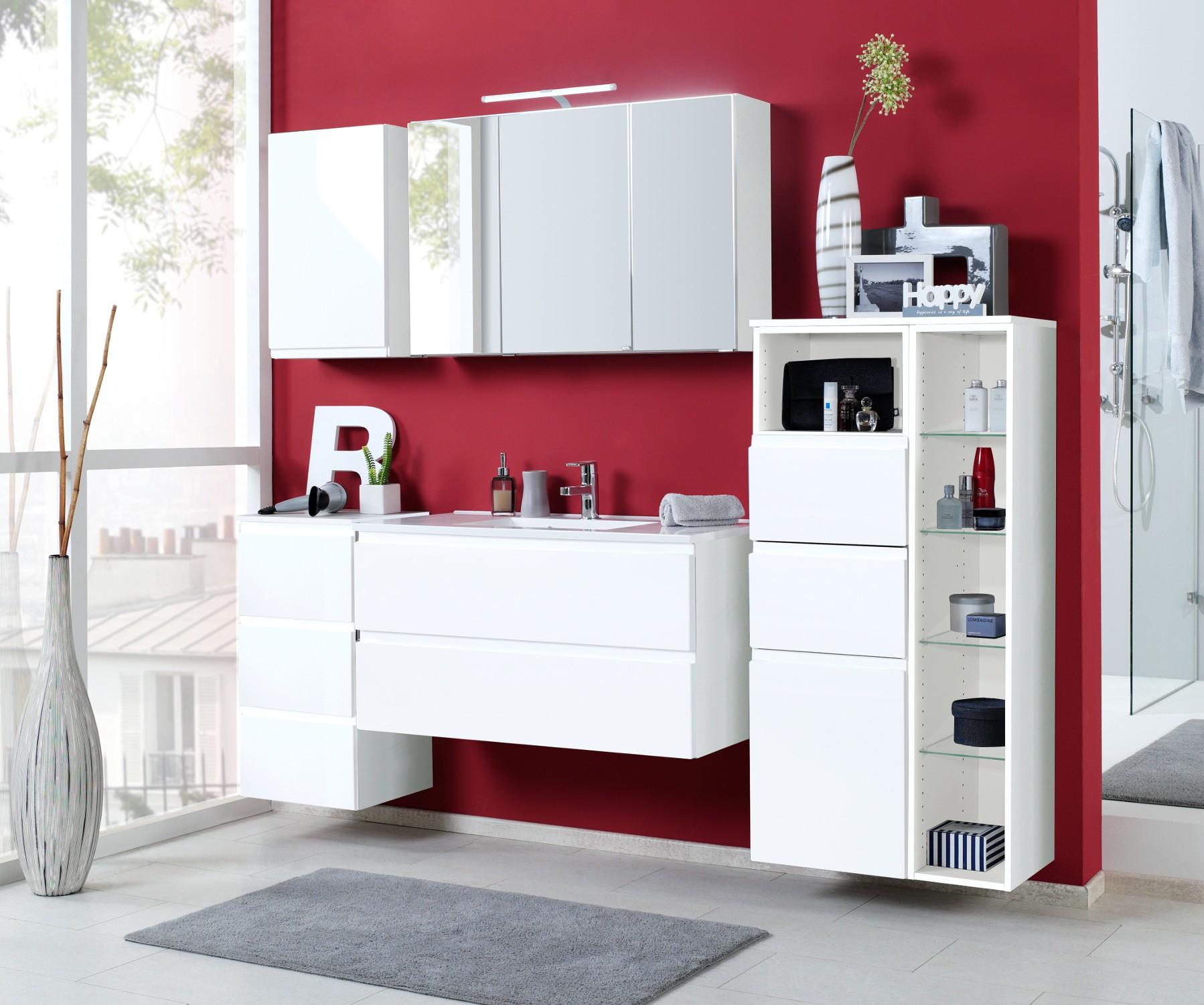 badm bel set cardiff mit waschtisch 7 teilig 205 cm. Black Bedroom Furniture Sets. Home Design Ideas
