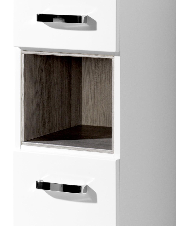 bad-hochschrank ancona - 2-türig, 1 regalfach - 30 cm breit ... - Hochschrank 30 Cm Breit Küche