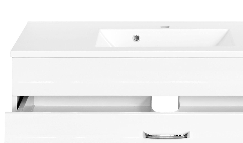 Relativ Bad-Waschtisch FONTANA - 1 Schubkasten - 1 Auszug - 100 cm breit  DZ96