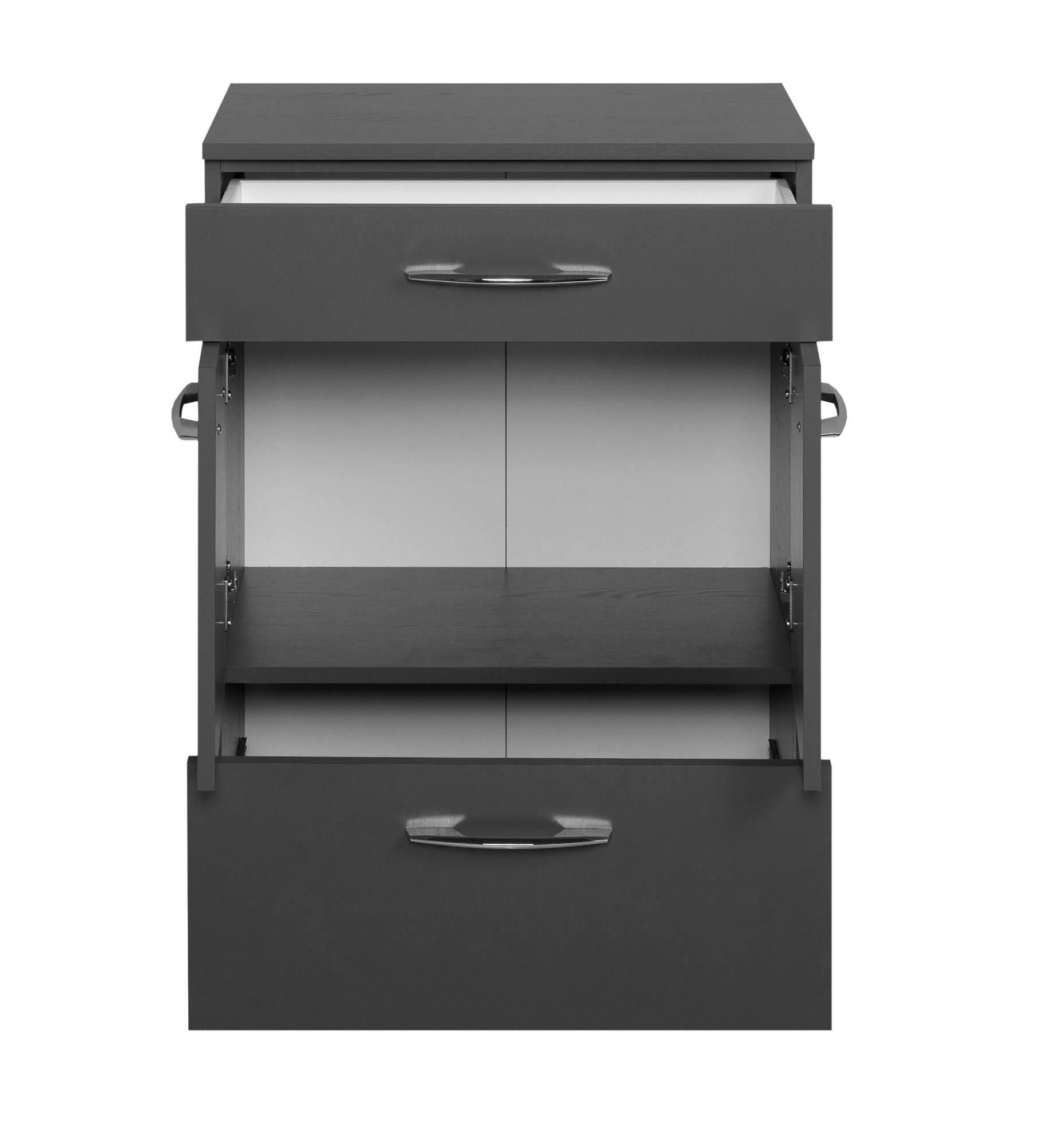 bad unterschrank portofino 2 t rig 1 schublade 1 auszug 60 cm breit graphitgrau bad. Black Bedroom Furniture Sets. Home Design Ideas