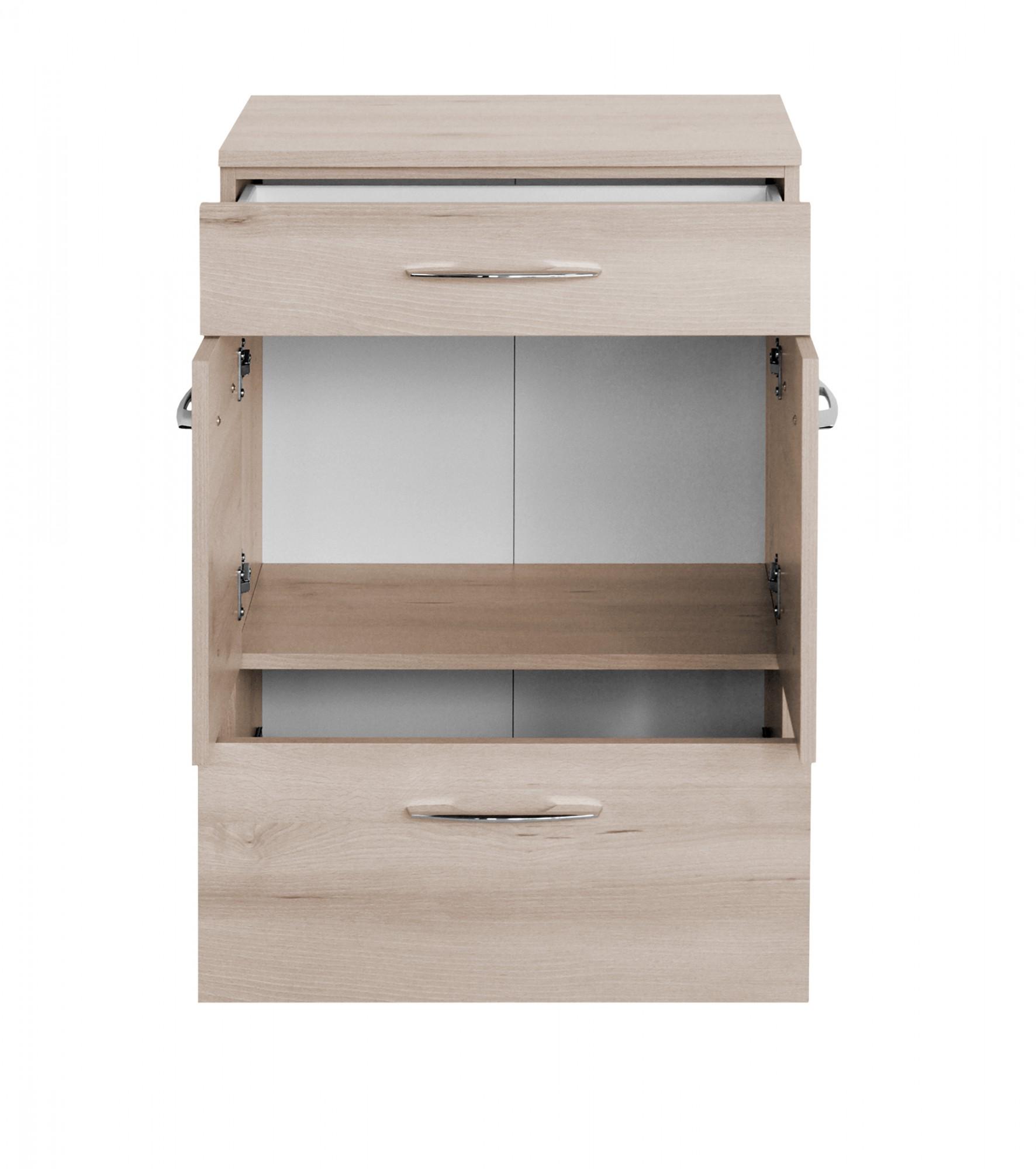 bad unterschrank portofino 2 t rig 1 schublade 1 auszug 60 cm breit buche iconic bad. Black Bedroom Furniture Sets. Home Design Ideas