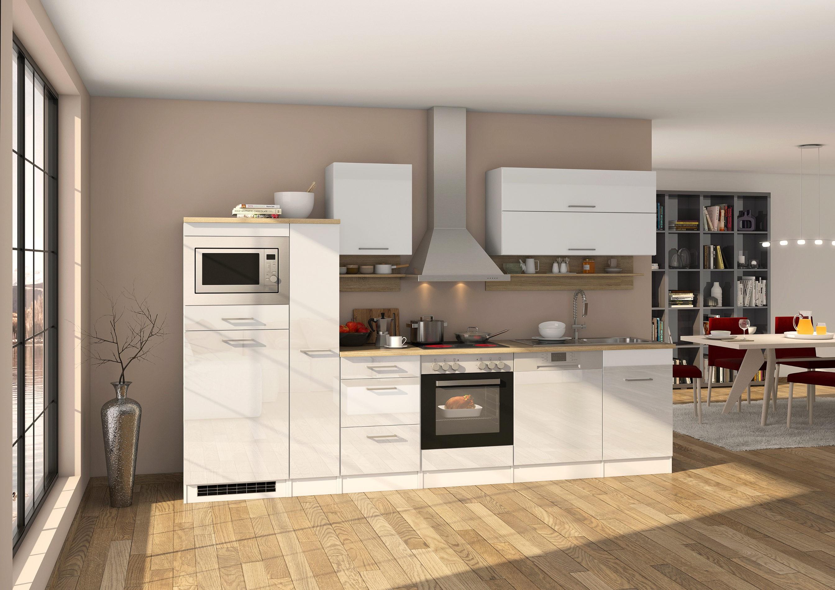 Küchen Apothekerschrank MÜNCHEN 2 Front Auszüge