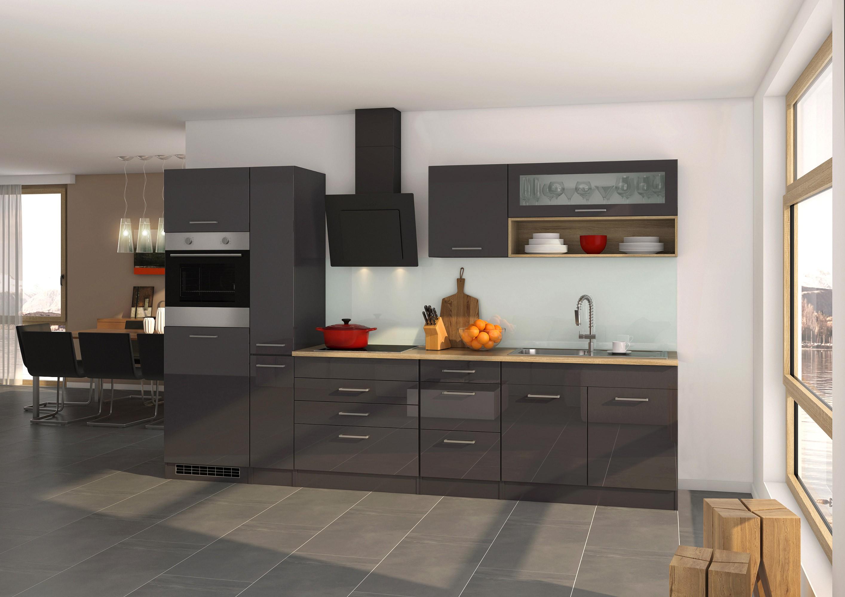 k chen apothekerschrank m nchen 2 front ausz ge hochglanz grau graphit k che m nchen. Black Bedroom Furniture Sets. Home Design Ideas