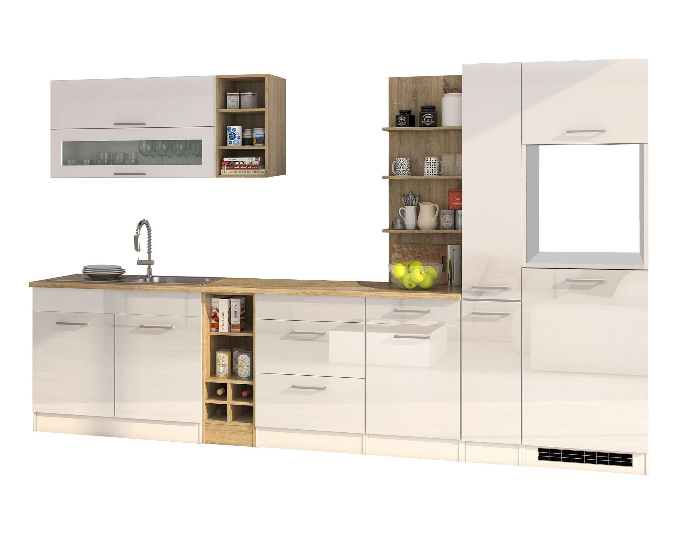 k chenzeile m nchen vario 3 k chen leerblock breite. Black Bedroom Furniture Sets. Home Design Ideas