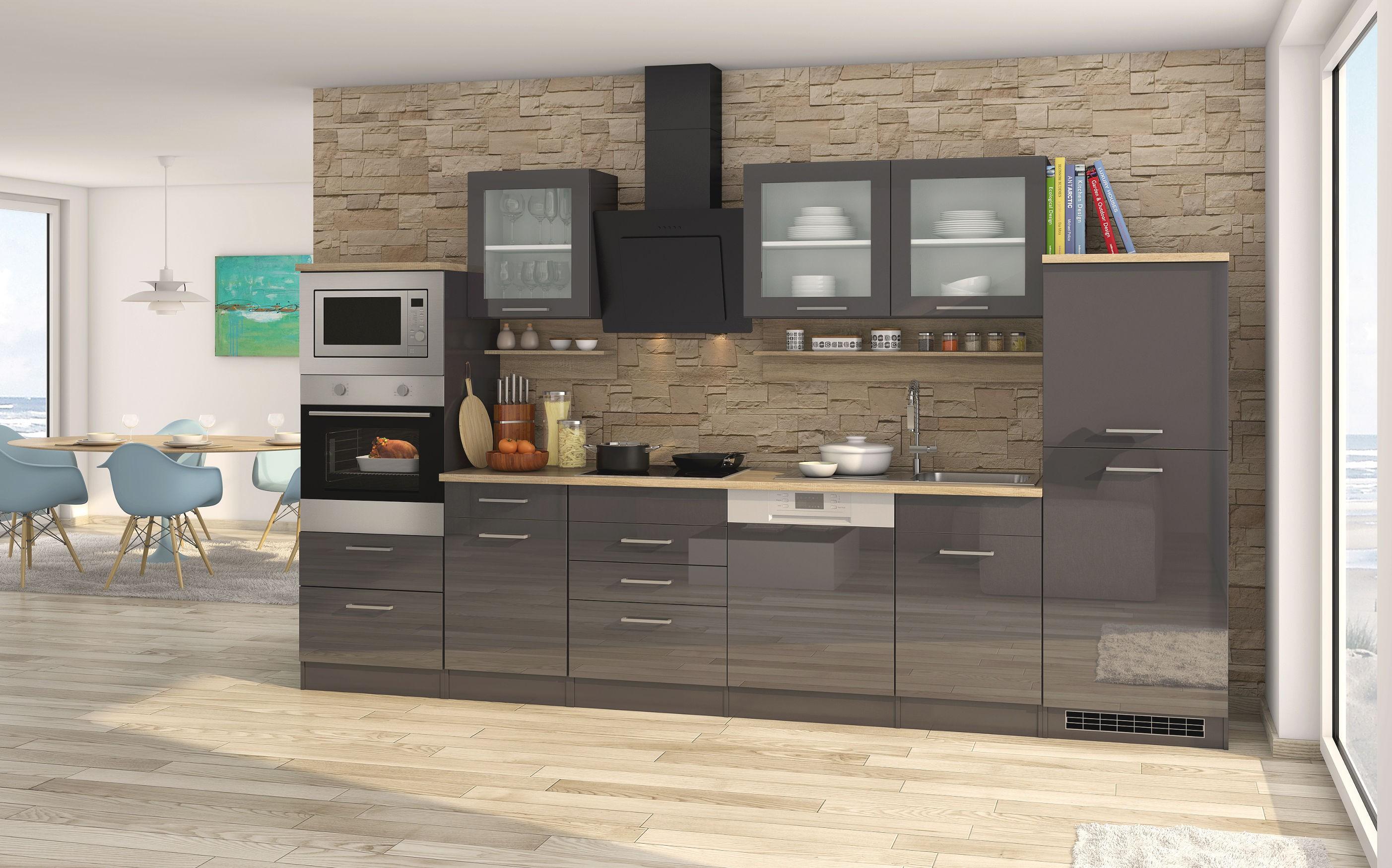 Günstige Küchenzeile Mit Aufbau