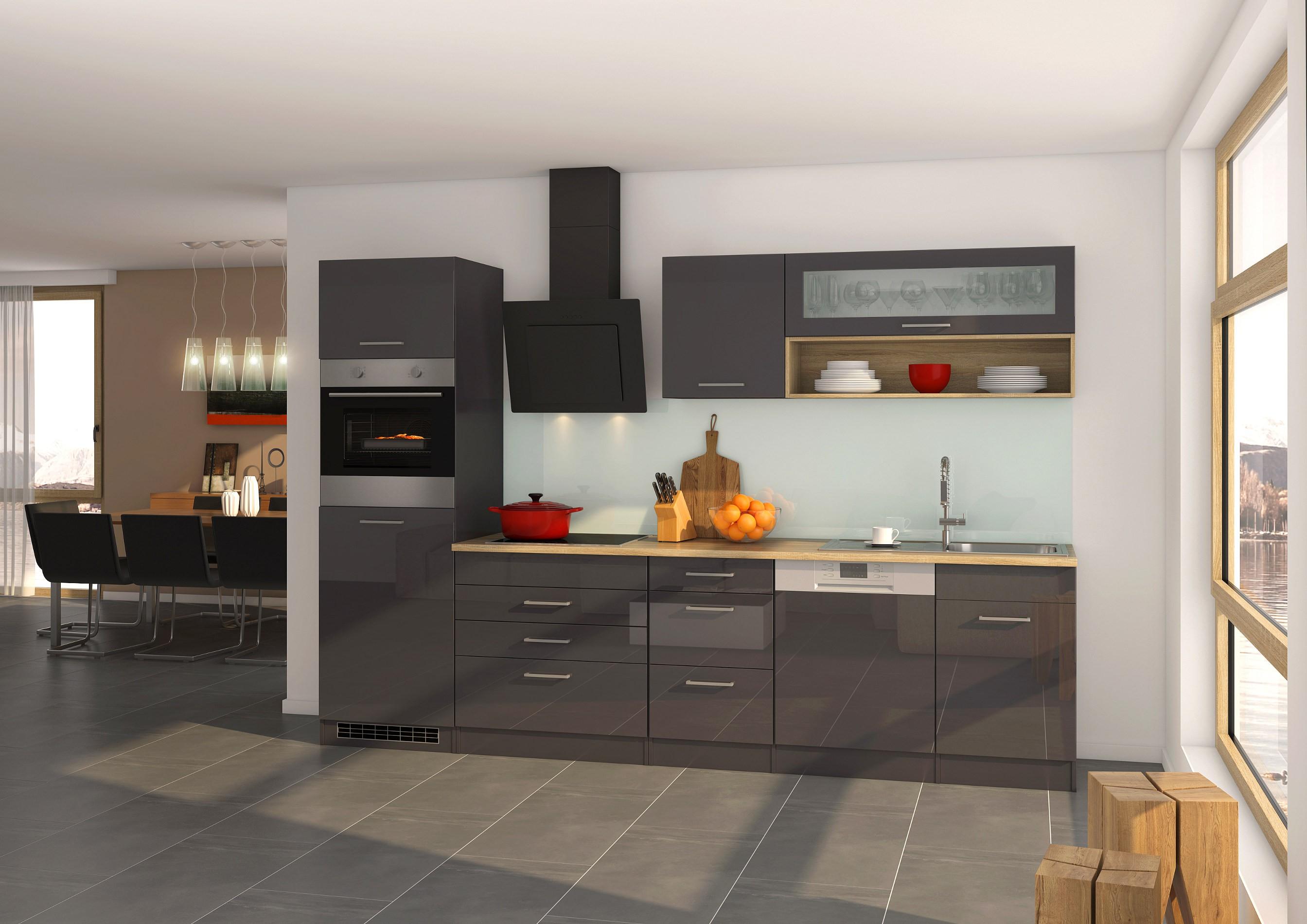 k chen unterschrank m nchen f r kochfeld 60 cm breit hochglanz grau k che m nchen. Black Bedroom Furniture Sets. Home Design Ideas