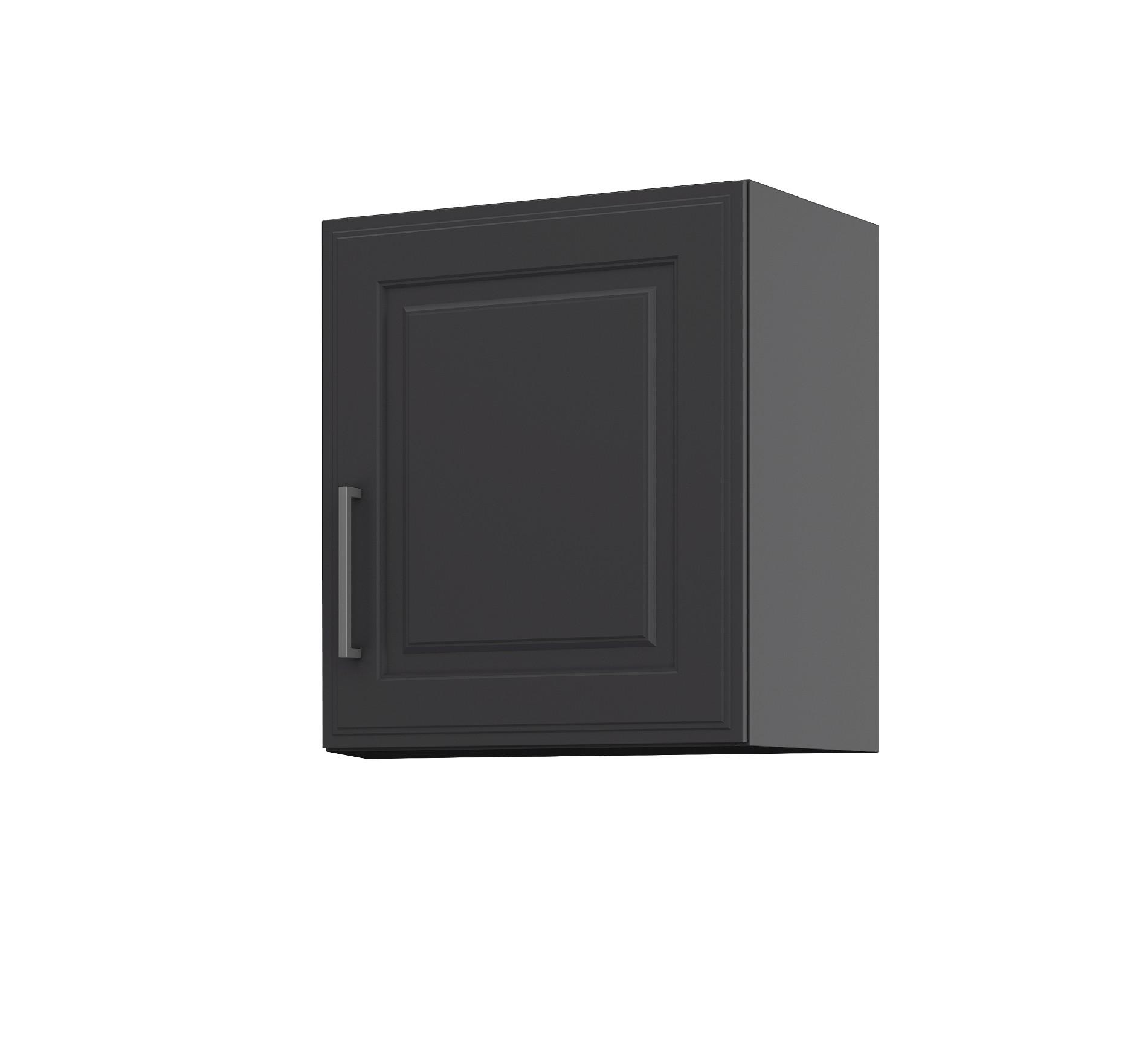 k chen h ngeschrank k ln 1 t rig breite 50 cm grau graphit k che k ln. Black Bedroom Furniture Sets. Home Design Ideas