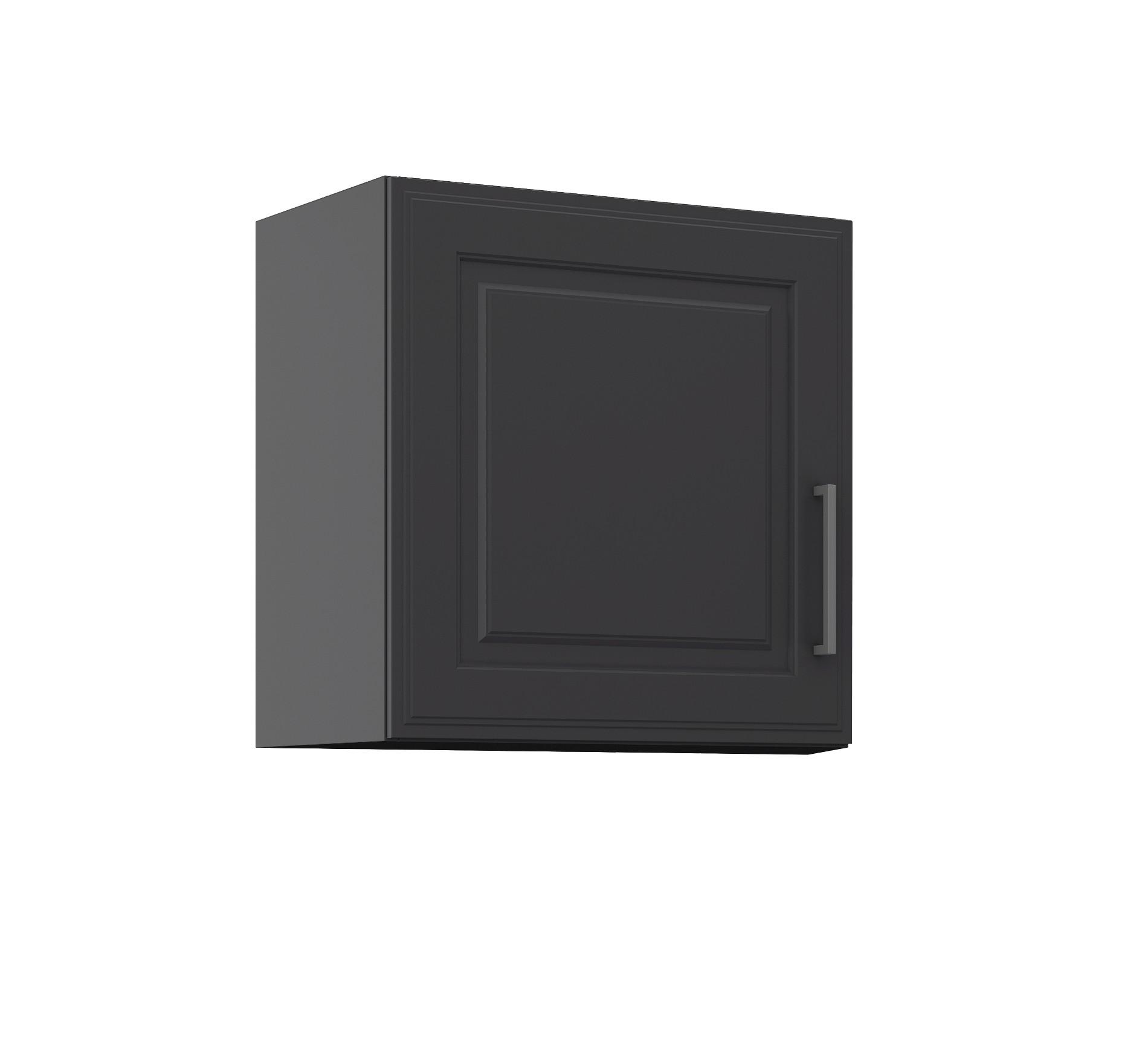 k chen h ngeschrank k ln 1 t rig breite 60 cm grau graphit k che k ln. Black Bedroom Furniture Sets. Home Design Ideas