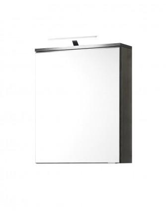 bad spiegelschrank mailand 2 t rig mit led aufsatzleuchte 120 cm breit wei bad mailand. Black Bedroom Furniture Sets. Home Design Ideas