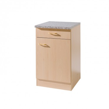 küchen-unterschrank münster - 1-türig - breite 60 cm, tiefe 50 cm
