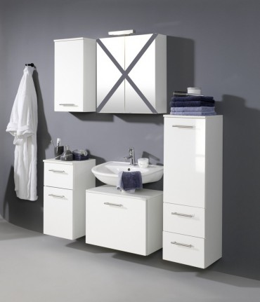 Badmöbel günstig weiß  Möbel-Günstig.de - BLANCO Badmöbel - Badezimmer-Ideen