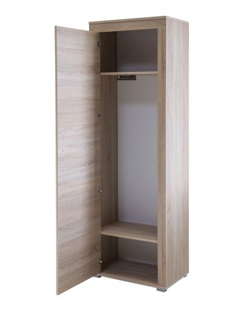 wandgarderobe lake 40 cm breit eiche sonoma wohnen diele. Black Bedroom Furniture Sets. Home Design Ideas
