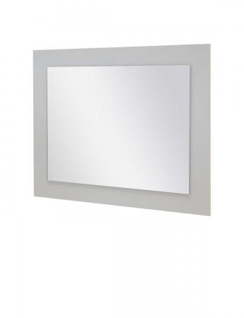 Spiegel LAKE - 70 cm breit - Weiß