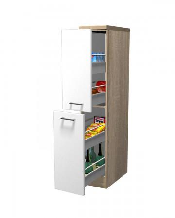 Apothekerschrank küche  Küchen-Apothekerschrank ROM - 2 Front-Auszüge, 5 Schubkästen ...