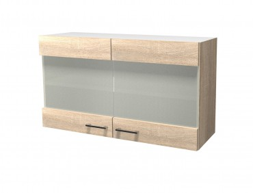 k chen eckh ngeschrank rom 2 t rig 60 cm breit eiche sonoma k che rom. Black Bedroom Furniture Sets. Home Design Ideas