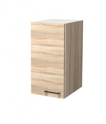 k chen h ngeschrank rom 2 t rig 80 cm breit eiche. Black Bedroom Furniture Sets. Home Design Ideas