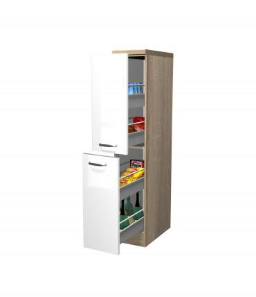 Großartig Küchen-Apothekerschrank VENEDIG - 2 Front-Auszüge, 5 Schubkästen  FS01