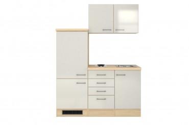 singlek che florenz breite 160 cm perlmutt wei k che singlek chen. Black Bedroom Furniture Sets. Home Design Ideas