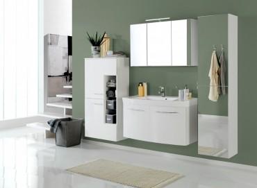 badm bel g nstig wei. Black Bedroom Furniture Sets. Home Design Ideas