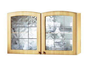 küchen-hängeschrank raute - 2-türig - 100 cm breit - buche küche ... - Hängeschrank Küche Landhausstil