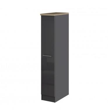 k chen apothekerschrank m nchen 1 front auszug hochglanz grau graphit k che m nchen. Black Bedroom Furniture Sets. Home Design Ideas