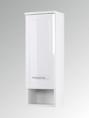 bad h ngeschrank neapel 2 t rig 50 cm breit hochglanz wei bad neapel. Black Bedroom Furniture Sets. Home Design Ideas