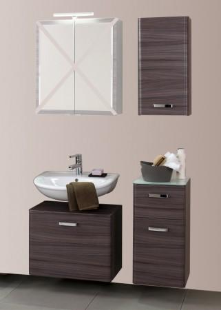 badm bel set phoenix 3 teilig 95 cm breit eiche dunkel mit echtholzstruktur bad badm belsets. Black Bedroom Furniture Sets. Home Design Ideas