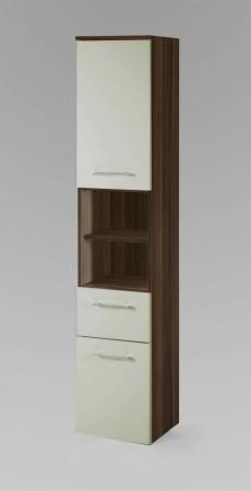 bad unterschrank next 1 t rig 1 schublade 35 cm breit hochglanz creme bad next. Black Bedroom Furniture Sets. Home Design Ideas
