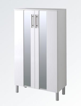 bad hochschrank miami 2 t rig 35 cm breit hochglanz wei bad miami. Black Bedroom Furniture Sets. Home Design Ideas
