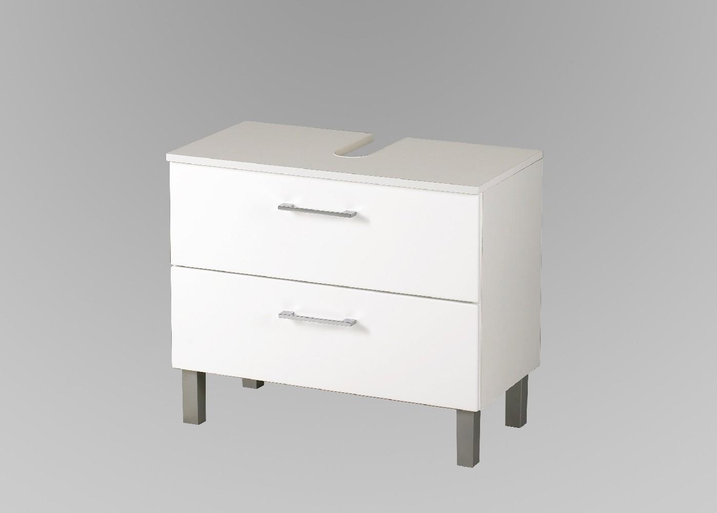 badm bel set next 5 teilig 140 cm breit hochglanz wei bad badm belsets. Black Bedroom Furniture Sets. Home Design Ideas