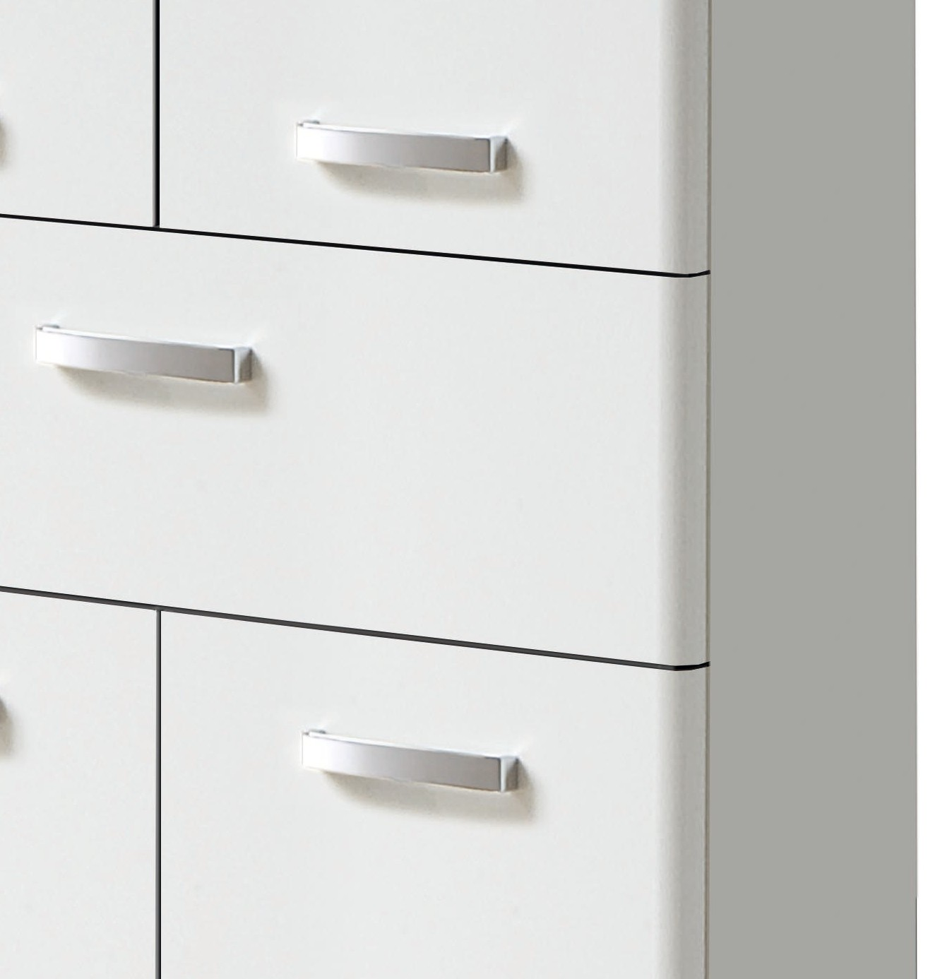 Neu badezimmer midischrank phoenix midi highboard for Badezimmer highboard