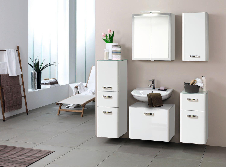 bad h ngeschrank phoenix 1 t rig 35 cm breit. Black Bedroom Furniture Sets. Home Design Ideas