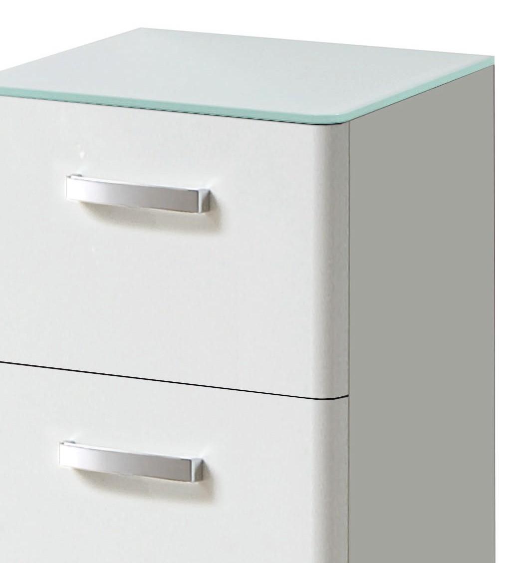 badm bel set phoenix 3 teilig 95 cm breit hochglanz wei bad phoenix. Black Bedroom Furniture Sets. Home Design Ideas