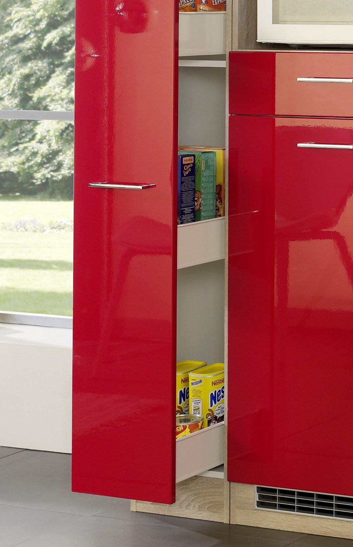 Singleküche bern mit kühlschrank 9 teilig breite 190 cm