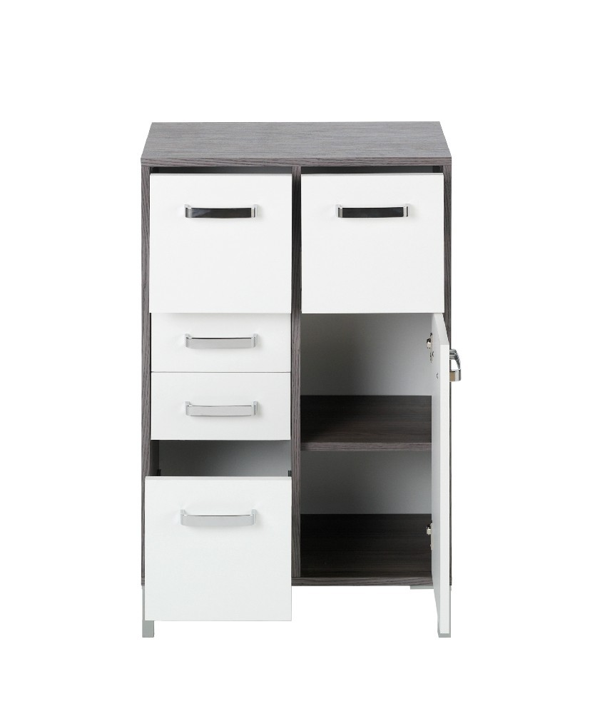schrank 100 cm breit schrank 2 ordnerhoehen serie style breite 100 cm gm rss s2 100 schrank. Black Bedroom Furniture Sets. Home Design Ideas