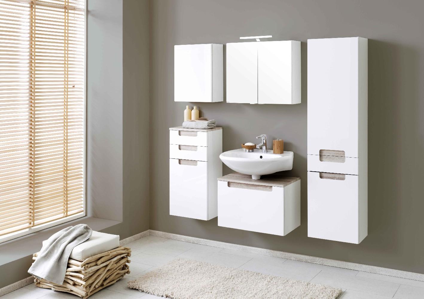 bad unterschrank siena 1 t rig 40 cm breit hochglanz. Black Bedroom Furniture Sets. Home Design Ideas