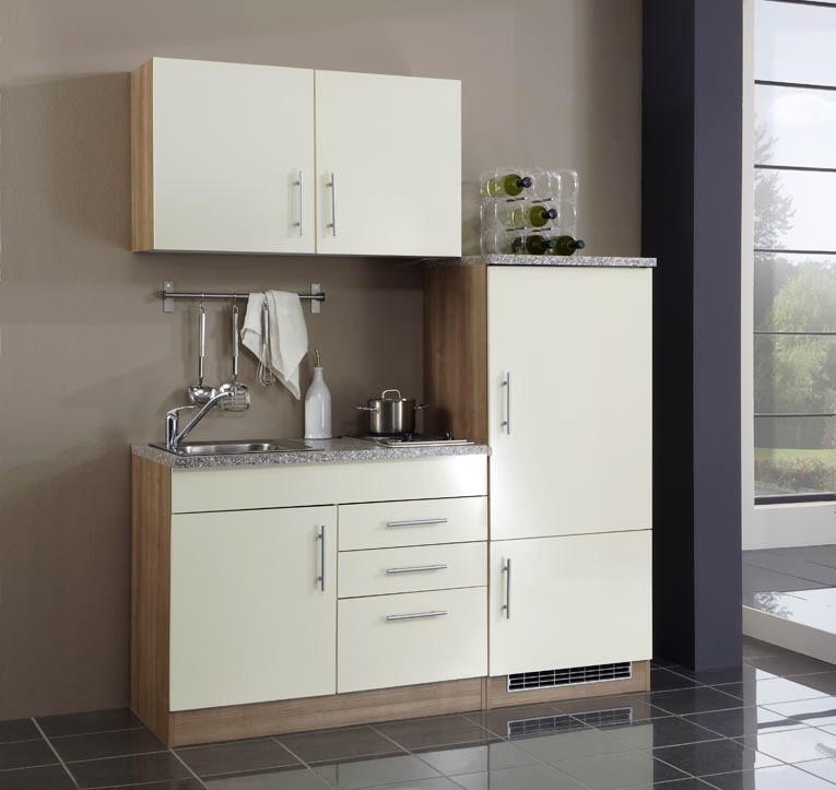 singlek che mit k hlschrank dekoration inspiration. Black Bedroom Furniture Sets. Home Design Ideas
