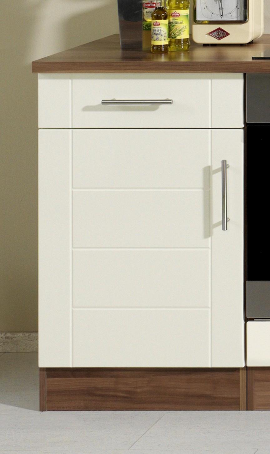 k chenzeile nevada k che mit e ger ten breite 220 cm hochglanz creme k che k chenzeilen. Black Bedroom Furniture Sets. Home Design Ideas