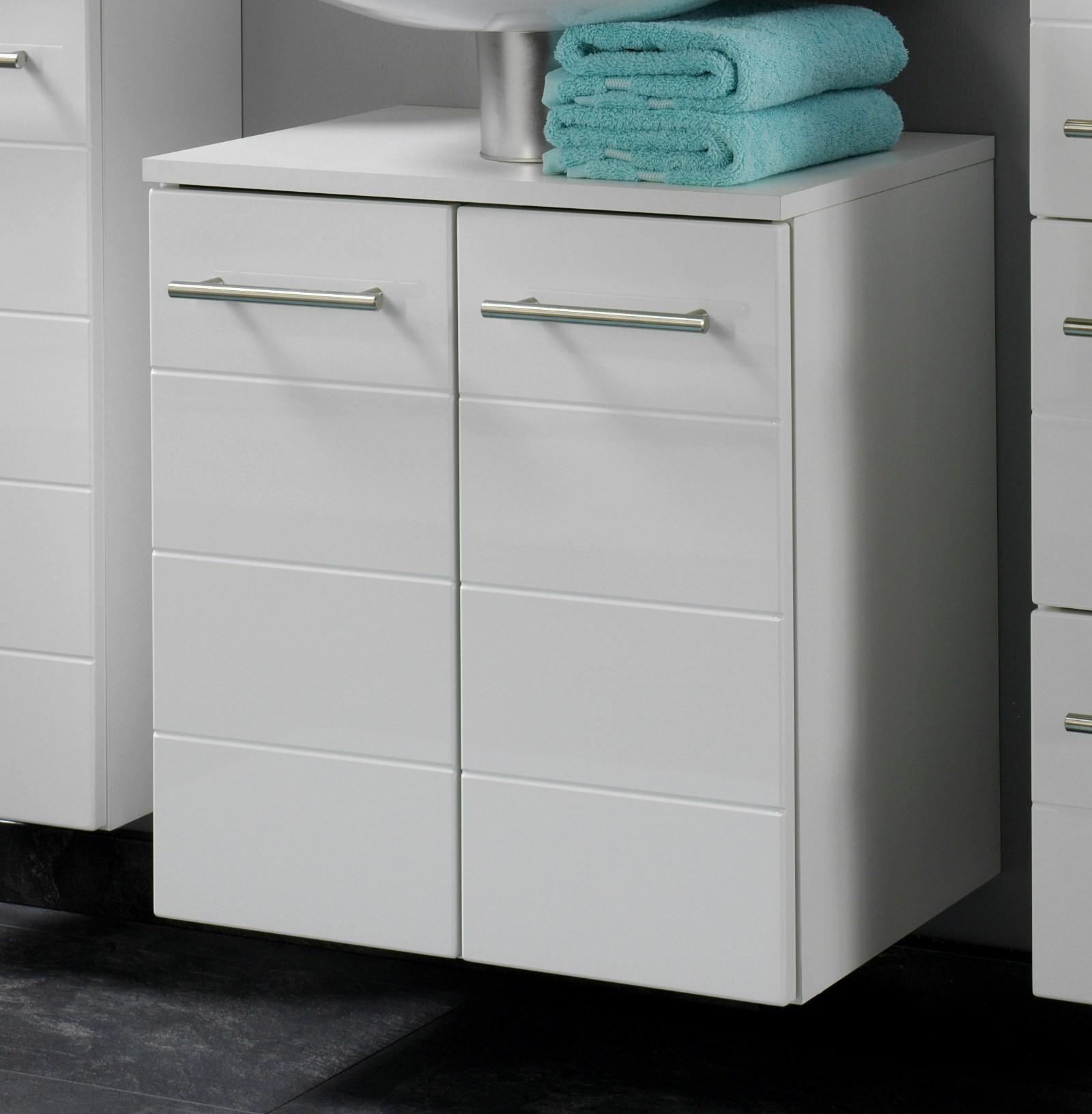 badm bel set rimini 3 teilig 75 cm breit hochglanz wei bad rimini. Black Bedroom Furniture Sets. Home Design Ideas