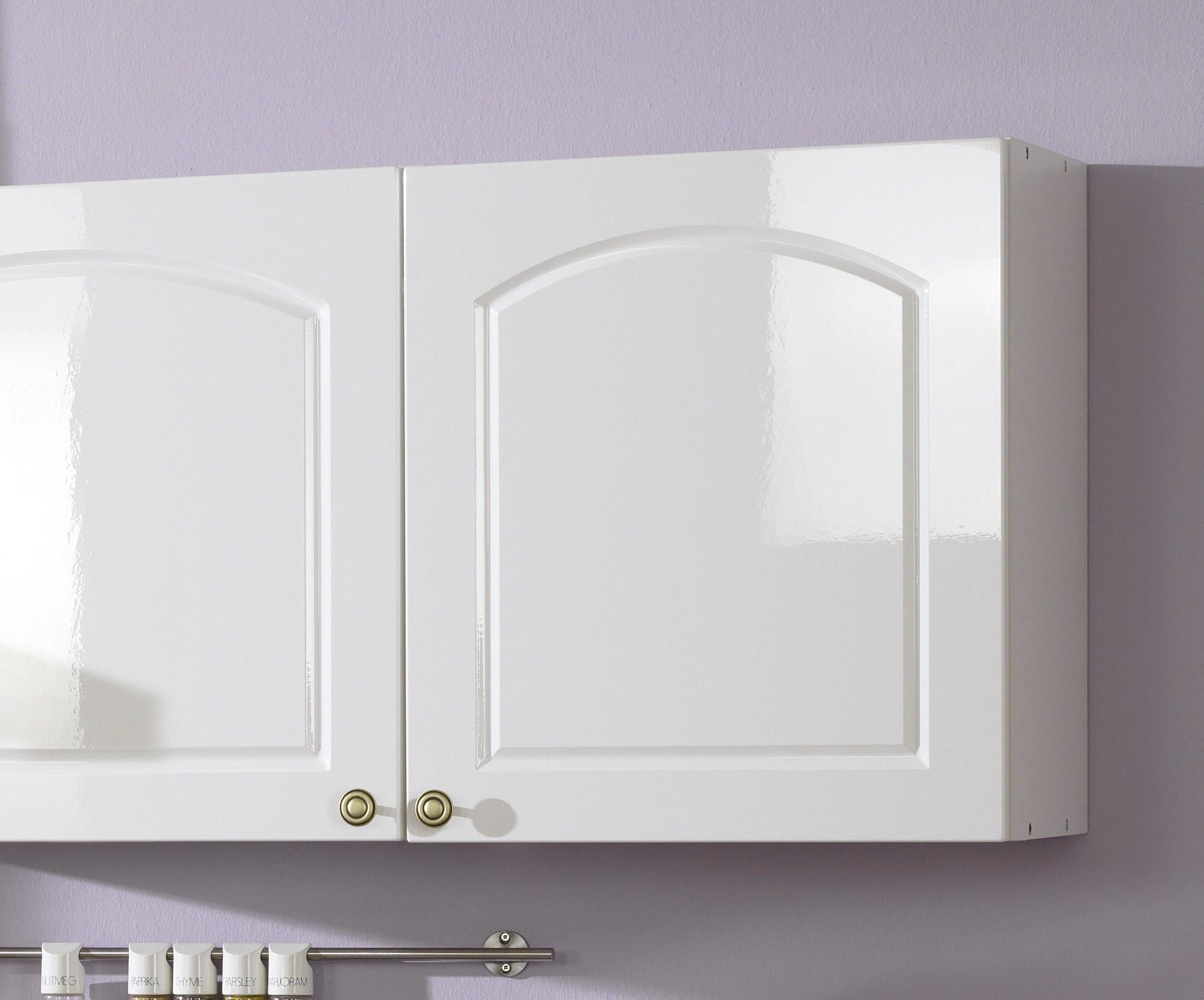 k chenzeile boston k che mit e ger ten breite 280 cm hochglanz wei k che boston weiss. Black Bedroom Furniture Sets. Home Design Ideas